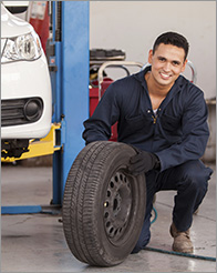 Automaster Paint & Body Works: Dunkirk Tire Shop - Tire Selection